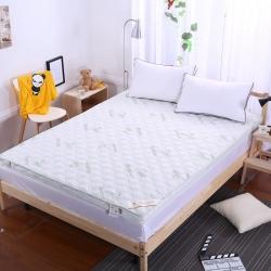 敢为床垫 竹纤维慢回弹可脱卸拆洗立体记忆棉床垫