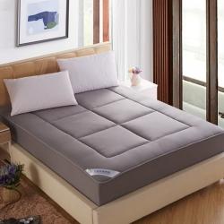 敢为床垫 榻榻米全棉竹炭纤维床笠式床垫床护垫