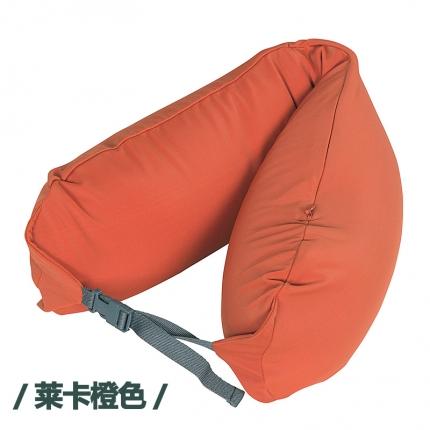 欧麦家家纺 新款护颈枕 莱卡橙色
