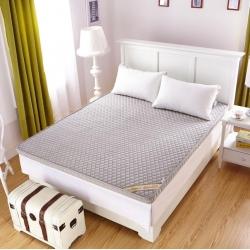 布卢姆床垫 2018新品珊瑚绒立体床垫 灰色