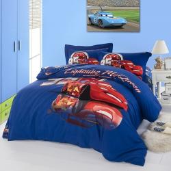 (总)迪士尼家居馆 全棉活性印花磨毛套件床单款