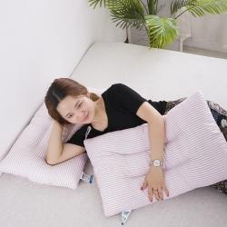 (总)微枕芯 水洗棉羽丝绒低枕 护颈颈椎枕单只装 学生枕芯