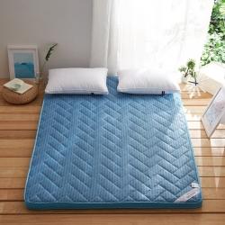 依诺床垫 4D立体床垫 运动蓝