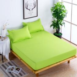 依诺床垫 防水床笠 果绿