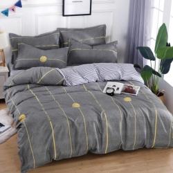莱仕家纺 柔软舒适芦荟棉四件套床单款 篮球宝贝