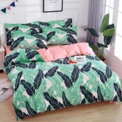 莱仕家纺 柔软舒适芦荟棉四件套床单款 绿野仙踪