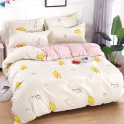 莱仕家纺 柔软舒适芦荟棉四件套床单款 舞动的旋律