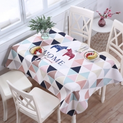 王牌家纺 2019第一批桌布 幸福家园
