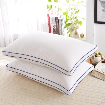 (总)天依舍 羽丝绒立体边枕头