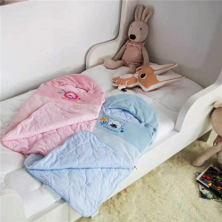 (总)小马达 儿童天鹅绒两用睡袋幼儿园儿童
