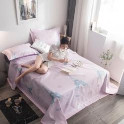 (总)茹沐 2019竹语冰感冰丝席三件套床单款凉席
