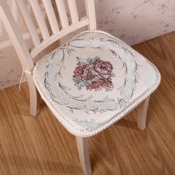 爱家居 欧式餐椅垫 浪漫满屋 米色