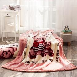 拉舍尔毛毯沙发毯办公室车载毯子儿童幼儿园盖毯 一件代发