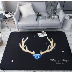 (总)奕晨  水晶绒地垫爬行垫可折叠地毯卧室茶几榻榻米垫
