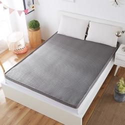 尚舒雅 加厚榻榻米立体4D加厚床垫 4D立体灰色