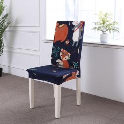 2018款卡通弹力连体椅套椅子套沙发套