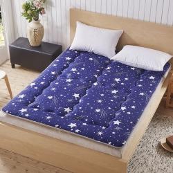 尚舒雅 磨毛床垫床褥子单人双人垫被褥学生宿舍 繁星点点