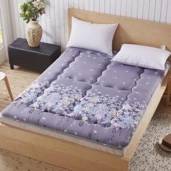 尚舒雅 磨毛床垫床褥子单人双人垫被褥学生宿舍 迷迭香