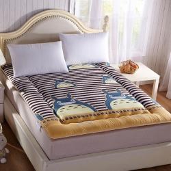 尚舒雅 磨毛床垫床褥子单人双人垫被褥学生宿舍 大猫