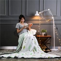 2018新品慕梵空调被可水洗棉夏被儿童单人宿舍双人夏凉被
