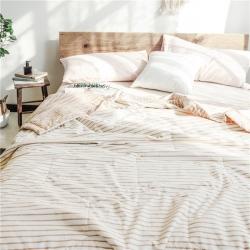 全棉水洗夏被空调被纯棉被芯薄