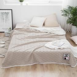 图拉图拉 全棉针织棉夏被空调被小马达御棉坊那里多米兔迎鹤宝贝