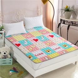 全棉榻榻米床垫床褥 四季床护垫可机洗薄垫