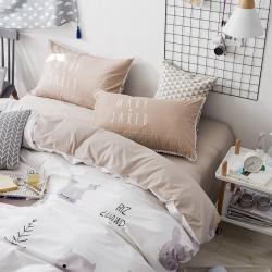 (总)13372花边枕套四件套全棉1.8m床双人床单三件套