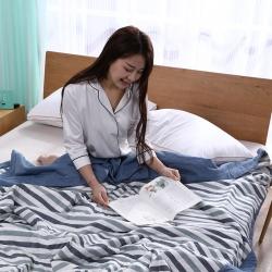 100%里外全棉水洗棉花夏被空调被纯棉夏凉被学生夏季春秋被