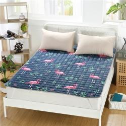 特价磨毛床褥床垫 榻榻米防滑垫子垫背褥子 可水洗床护垫薄垫