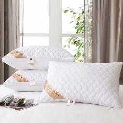 兴丝露枕芯 防螨绗缝立体枕  舒适枕 枕头48x74cm