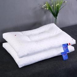 沃兰国际 全棉小清新印花护颈立体枕芯安睡助眠定型水洗枕头