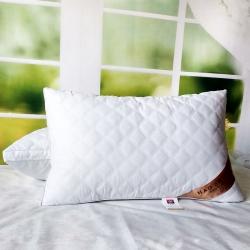 兴丝露枕芯 亲肤绗缝立体枕 双边枕  枕头48xx74cm