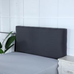 (单)喜相逢家纺 D22-床头罩--弹力布 深灰