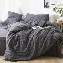 (总)上新北欧良品水洗棉四件套无印良品被套床笠床单 单品有售