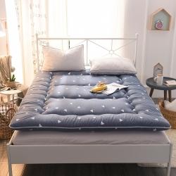 米帛床垫  磨毛印花超厚榻榻米床垫