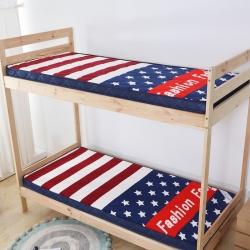 学生床垫0.9宿舍床垫上下铺床褥子1.2m榻榻米垫被加厚立体