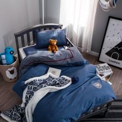 (总)小马达 幼儿园被子三件套 婴儿床品 运动宝贝 水洗棉