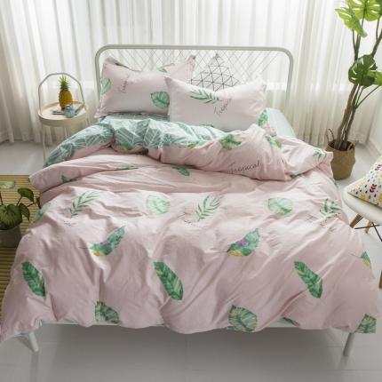 寐怡家纺 全棉活性四件套床上用品 13372套件 新品上市