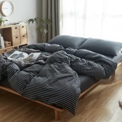 (总)北欧良品针织棉四件套天竺棉无印良品四件套床单床笠款