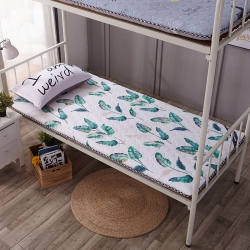 水洗布绗绣加厚床垫