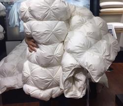 玛奇朵鹅绒被羽绒被95白鹅绒被子双单人被芯纯棉加厚保暖冬被