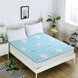 2018新款 全棉榻榻米床垫床褥 四季床护垫可机洗薄垫