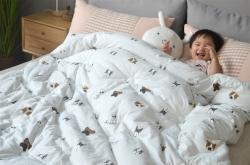 傲蕾良品高端儿童单人小孩被子冬被臻棉绒纯棉加厚小号被子柔软