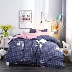 大量供应加厚保暖斜纹磨毛植物羊绒床上四件套床上用品三件套