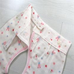 吖噢 全棉纱布出口西松屋精梳棉分身睡衣 哈衣 爬服