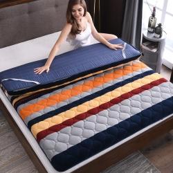 加厚法莱绒床垫床褥1.5m床褥子学生宿舍抗菌床垫1.8米垫被