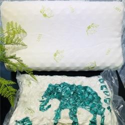 xml 特价乳胶枕头枕芯天然乳胶枕大象乳胶枕头狼牙按摩乳胶枕
