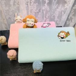 xml 纯天然儿童乳胶枕头枕芯6岁以上大童乳胶枕玩具安抚枕头