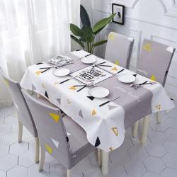 (总)品悦家纺 防水桌布椅套组合